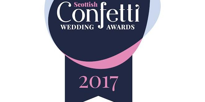 Confetti Wedding Awards Finalist