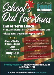 Xmas lunch flyer