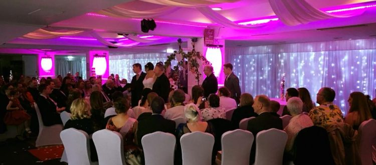 Wedding at The Almondvale Suite